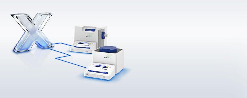 LabX til massefyldemålere og refraktometre