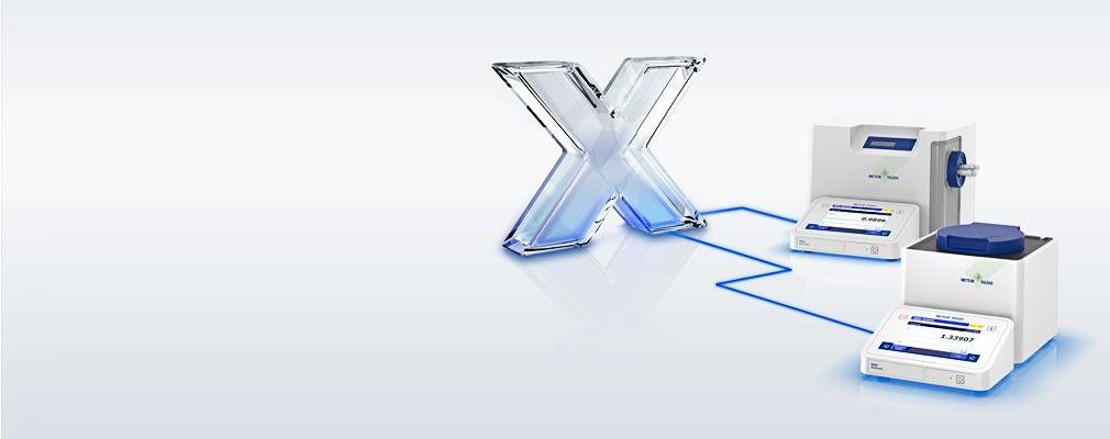 LabX for tetthets- og brytningsmålere