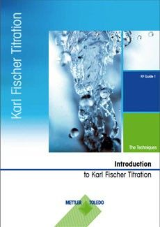 Karl Fischer Titration Guide Part 1