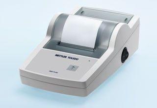 Printer for analytical balances