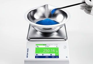 Precision Balances. Weighing Applications