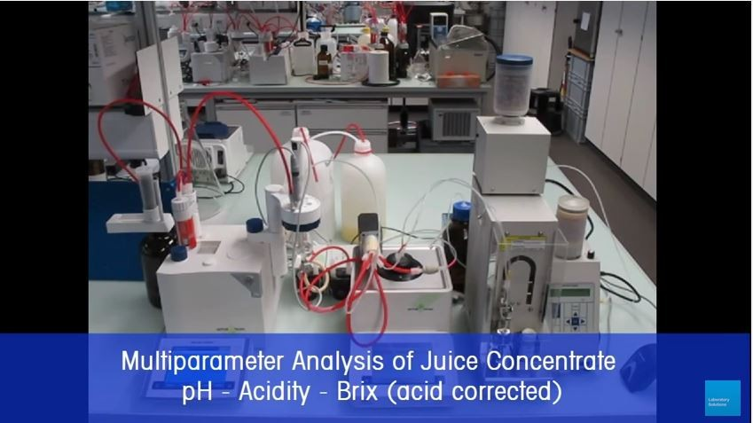 Beverages - Analysis of Juices Concentrates with Density and Refractive Index Measurement