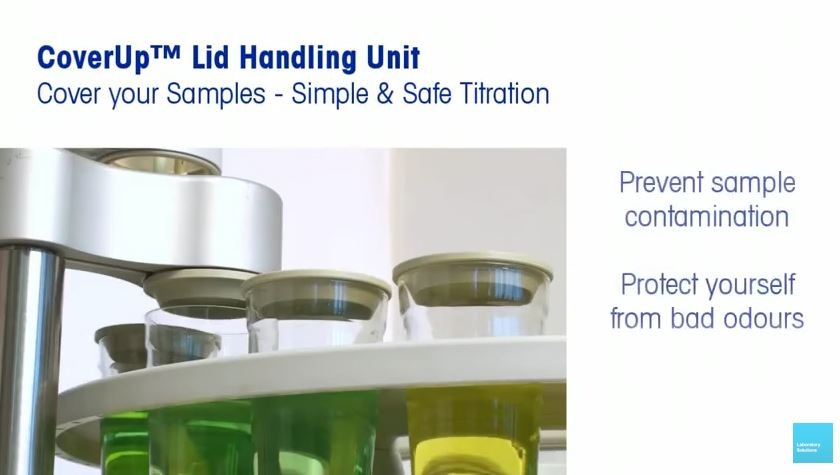 Cover your titration samples!