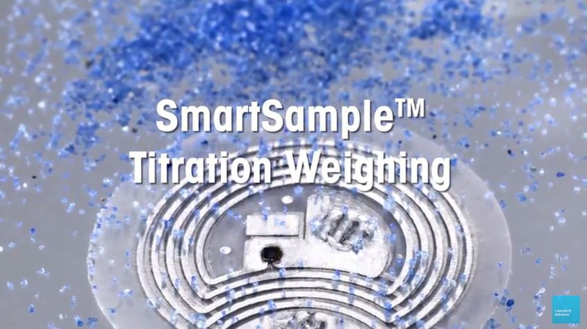 SmartSample™ Wireless Titration Weighing Technology