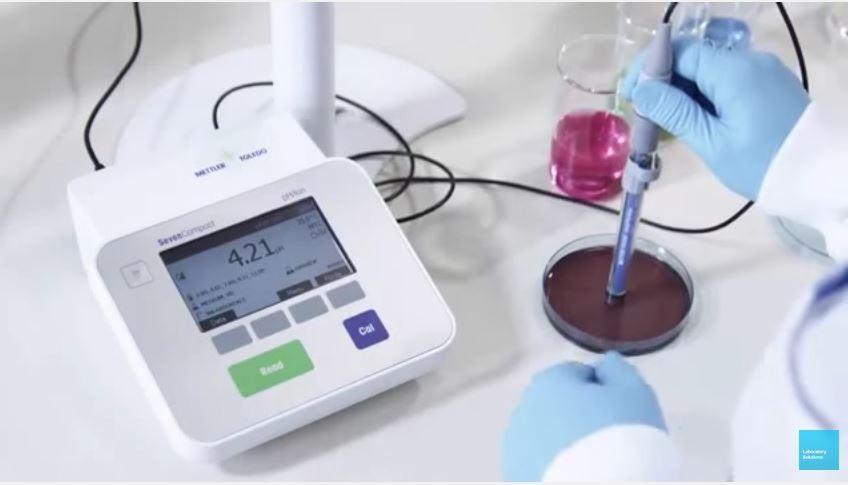 pH meter METTLER TOLEDO SevenCompact
