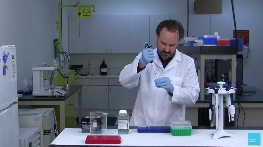 Pre-rinsing Pipette Tips - Good Pipetting Technique