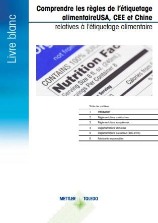 Livre blanc à télécharger: Comprendre les réglementations sur l'étiquetage des aliments
