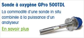 Sonde à oxygène GPro 500TDL
