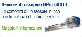 Sensore di ossigeno GPro 500TDL