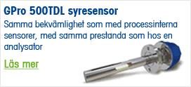 GPro 500TDL syresensor