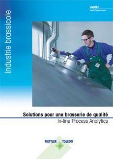 Brochure pour l'industrie brassicole