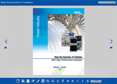 Interactive Brochure: Stop the Enemies of Turbines With High Performance Analyzers