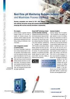 ISM Technology for Optimized Process Control