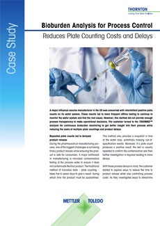Reduce Plate Counting Costs Case Study