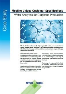 Outils d'analyse de l'eau pure