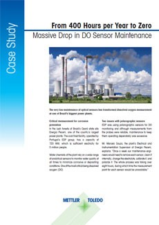 Minimize DO Sensor Maintenance Case Study