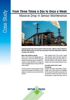 Sensor maintenance