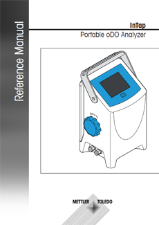 Reference Manual for InTap Portable oDO Analyzer