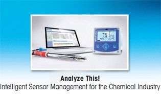 Intelligent sensor management for chemical industry