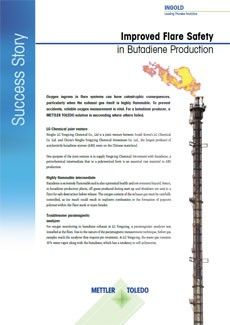 Success Story: Improved Flare Safety in Butadiene Production
