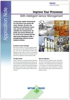 Frontpage Application Note Improve your Process with ISM