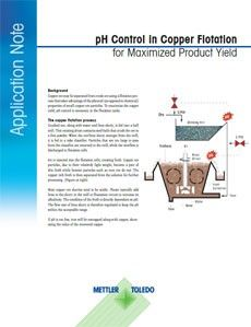 pH Control in Copper Flotation for Maximized Product Yield