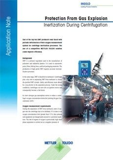 Application Note: Protection From Gas Explosion