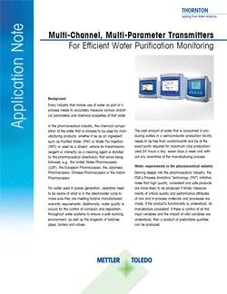 Pure Water Transmitter Application Note