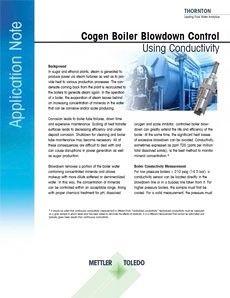 使用电导率监测热电联产锅炉水排污