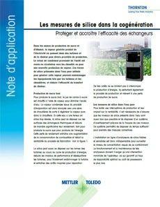 Note d'application: Mesure de la silice dans les centrales de cogénération pour protéger les équipements onéreux