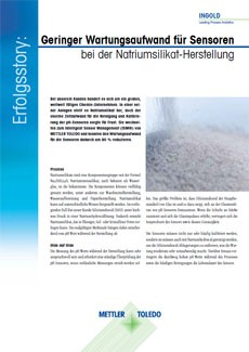 Sodium Silicate Production
