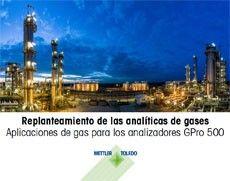 Folleto electrónico gratuito: Replanteamiento de las analíticas de gases Aplicaciones de gas para los analizadores GPro 500