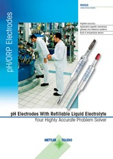 Family Flyer: pH-Electrodes With Refillable Liquid Electrolyte