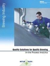 양조 회사를 위한 공정분석 브로셔: 고급 양조를 위한 고품질 솔루션
