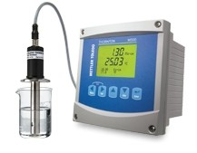 Calibration of TOC analyzers and conductivity sensors without removing them from the water system
