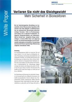 Mehr Sicherheit in Bioreaktoren