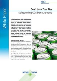Brewing Industry White Paper: Safeguarding Dissolved CO2 Measurements
