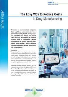 Tanulmány: A gyógyszergyártási költségek csökkentésének egyszerű módja