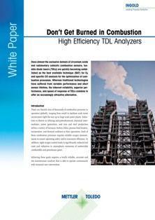 High Efficiency TDL Analyzers