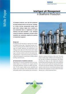 White Paper zum intelligenten pH-Management in der Bioethanolproduktion