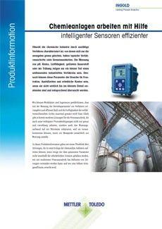 Chemieanlagen arbeiten mit Hilfe intelligenter Sensoren effizienter