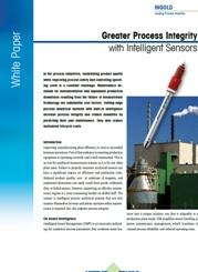 Greater Process Integrity with Intelligent Sensors