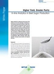 White Paper: Beet Sugar Production