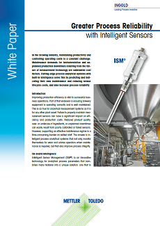 Process Reliability with Intelligent Sensors