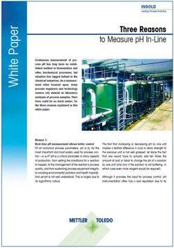 Meranie pH vlinke