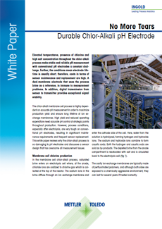 White Paper: Durable Chlor-Alkali pH Electrode