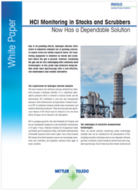 White paper: HCl-monitoring in stapels en gaswassers