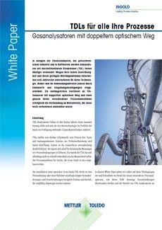 White Paper: TDLs für alle Prozesse – Gasanalysatoren mit zweifachen optischen Wegen