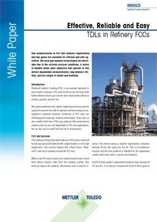 White Paper: Effective, Reliable and Easy TDLs in Refinery FCCs