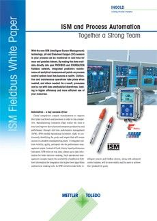 ISM and Process Automation Together a Strong Team